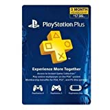 Sony PS Plus 3 Month Sub Card Live