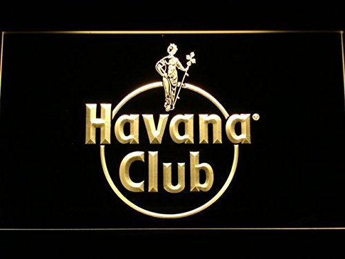 Price comparison product image a218 Havana Club Rum LED Neon Sign with On / Off Switch 7 Colors to choose (Yellow)