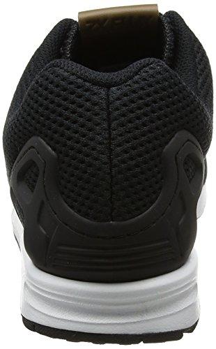 Adidas hombre 's ZX flujo Trainers negro Core negro / CORE negro / Calzado