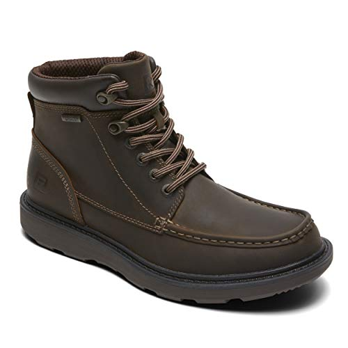 Rockport Men's Boat Builders Waterproof Moc Toe Boot,Dark Brown,US 13 M ()