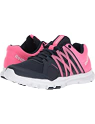 Reebok Womens Yourflex Trainette 8.0L MT Cross-Trainer Shoe, Collegiate Navy/Solar Pink/White, 8.5 B(M) US