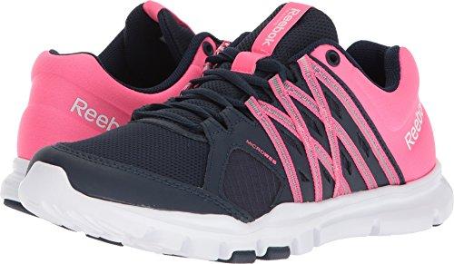 Reebok Trainette 8 Women's solar 0LMT white Pink Shoe S Collegiate Yourflex Training Navy 6x65rEwO