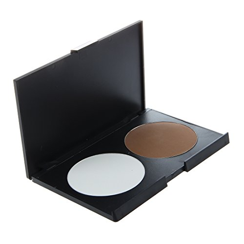 TOOGOO(R) Pressed Powder Foundation Palette Cosmetic Makeup Contour Soft 3 (Magnesium Pressed Powder)