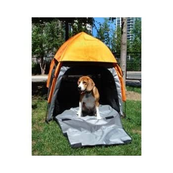 Umbra Tent Pet House Pop-up portable pet house Size: Medium