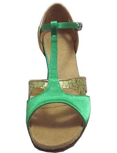 ShangYi Customized Women's Latin Sandals Customized Heel Dance Shoes for Women More Colors Purple wamzEvyY9Q