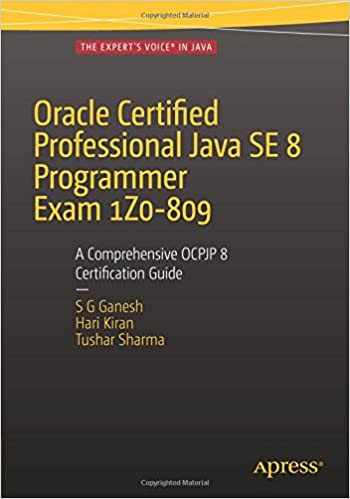 Oracle Certified Professional Java SE 8 Programmer Exam
