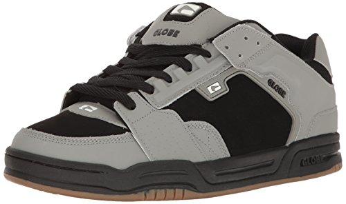 Globe Men's Scribe Skateboarding Shoe, Grey/Black/White, 10 M US - Skate Globe