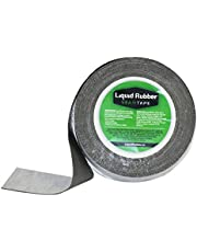 Liquid Rubber Peel and Stick Seam Tape - Fix Leaks, Repair and Restore Roof Joints and Tears, Bonds to EPDM, Metal, Tiles, Shingles, Wood, and Fiberglass Easy to Use, 2 Inch x 50 Foot Roll