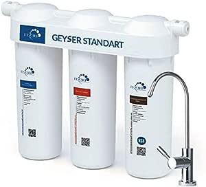 GEYSER STANDART - Filtro de agua de 3 etapas directo, purificador ...