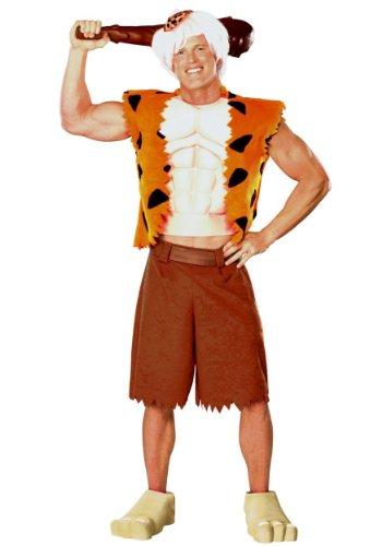 Bamm Bamm Halloween Costumes (Bamm-Bamm Adult Costume - X-Large)