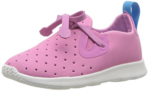 Native Kids AP Moc Sneaker, Malibu Pink/Shell White, 13 Medium US Little Kid ()