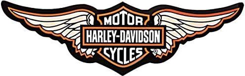 Retrolo Sticker Für Motorradhelm Harley Davidson Flügel Auto
