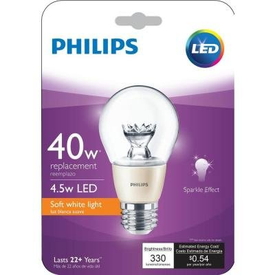 Philips 40w Equivalent Soft White 2700k A19 Dimmable Led