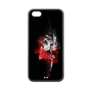 Chicago Bulls Derrick Rose plastic hard case skin cover for iPhone 5C AB638346
