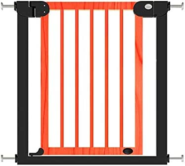 Huo Baby Safety Gate Pressure Mounted Auto Close Freestanding Fireplace Pet Fence for Stair (Size : 132-139cm)