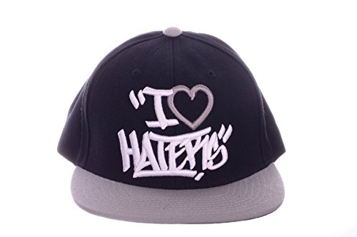 Used, DGK I Love Haters Snapback Cap in Black & Silver for sale  Delivered anywhere in USA