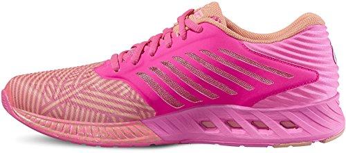 Rose Femme Chaussures Running de Asics Fuzex Compétition pwYBFzXqT