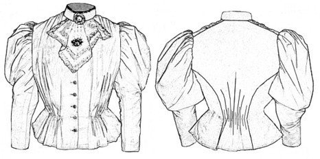 1880s dress patterns - 6