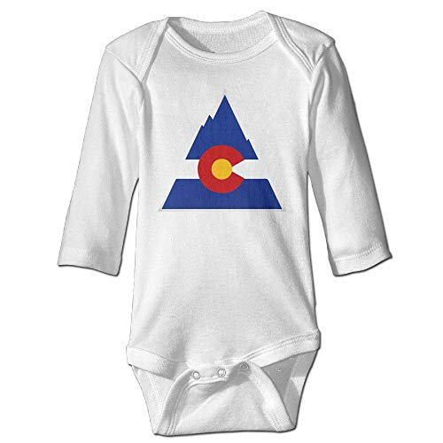 Funny Vintage Unisex Colorado Baby Onesie Baby Boys White