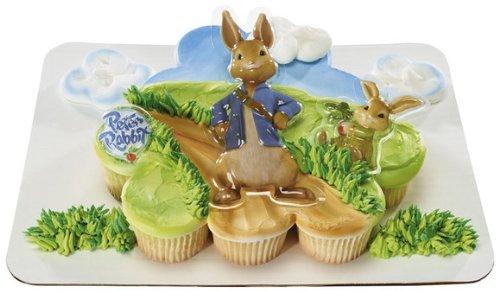 Peter Rabbit & Cottontail Decoplac Cake Topper