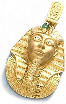 LIOR - Colgante Oro 18k (750) Tutankamon -17gr: Amazon.es: Joyería