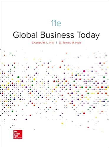Global Business Today by Hill/Hult