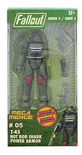 Fallout Mega Merge Series 2 - T-45 Hot Rod Shark Power Armor