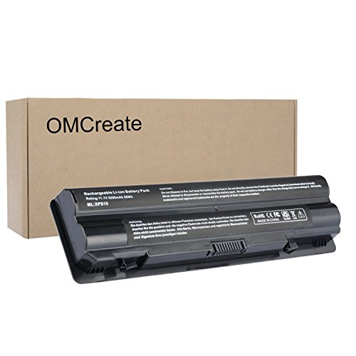OMCreate Laptop Battery for Dell XPS 15 (L502X L501X)/XPS 14 (L401X)/XPS 17 (L701X), fits P/N:JWPHFJ70W7 R795X -12 Months Warranty