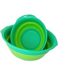 Buy Culina Collapsible Mixing Bowl Set of 2 (small & medium), 8