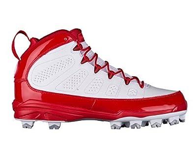 db00eebf77a Nike Men's Air Jordan IX Retro MCS Baseball Cleat Red/White (8 D(M ...