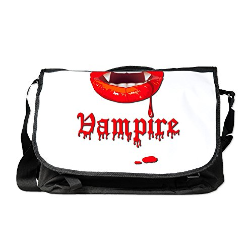 Royal Lion Laptop Notebook Messenger Bag Vampire Fangs Dracula