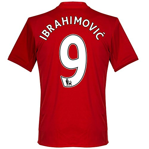 Manchester United Home Ibrahimovic Jersey 2016 / 2017 (PS-Pro Player Printing) - L