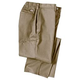 Dickies Occupational Workwear 2112272DS 30x34 Polyester/ Cotton Relaxed Fit Men\'s Premium Industrial Multi-Use Pocket Pant with Straight Leg, 30\