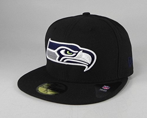 Fitted Seattle Seahawks Hat - 6
