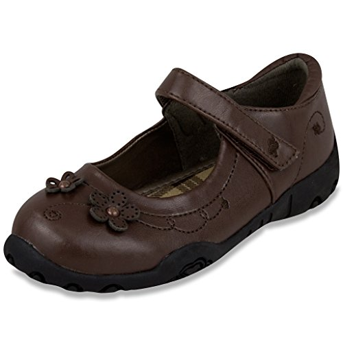 Girls Brown Dress Shoes - 2