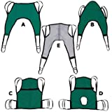 Padded U-Sling One-Piece Sling with Positioning Strap, Small, 33''H x 24''W (top), 16''W (bottom), Weight Range: 55-110lbs.
