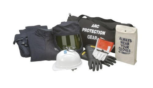 Chicago Protective Apparel Arc Flash Jacket & Bib Kit, 43 cal Extra Large & Size 10