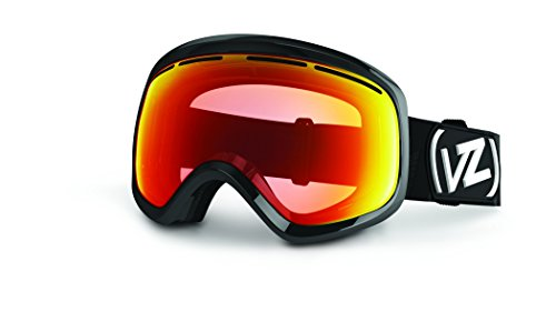 VonZipper Skylab Goggles, Pf Black Gloss/Clear Chrome Orange