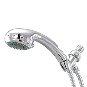 Kingston Brass KX2652B Designer Trimscape Showerscape Adjustable Personal Shower with Stainless Steel Hose, Polished Chrome