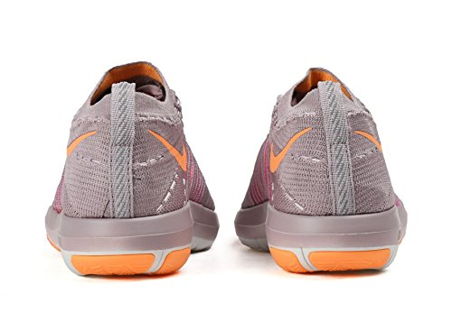 Nike Femmes Transformer Sans Chaussures De Formation Croix Flyknit Prune Brouillard / Pêche Crème Brillante Mangue