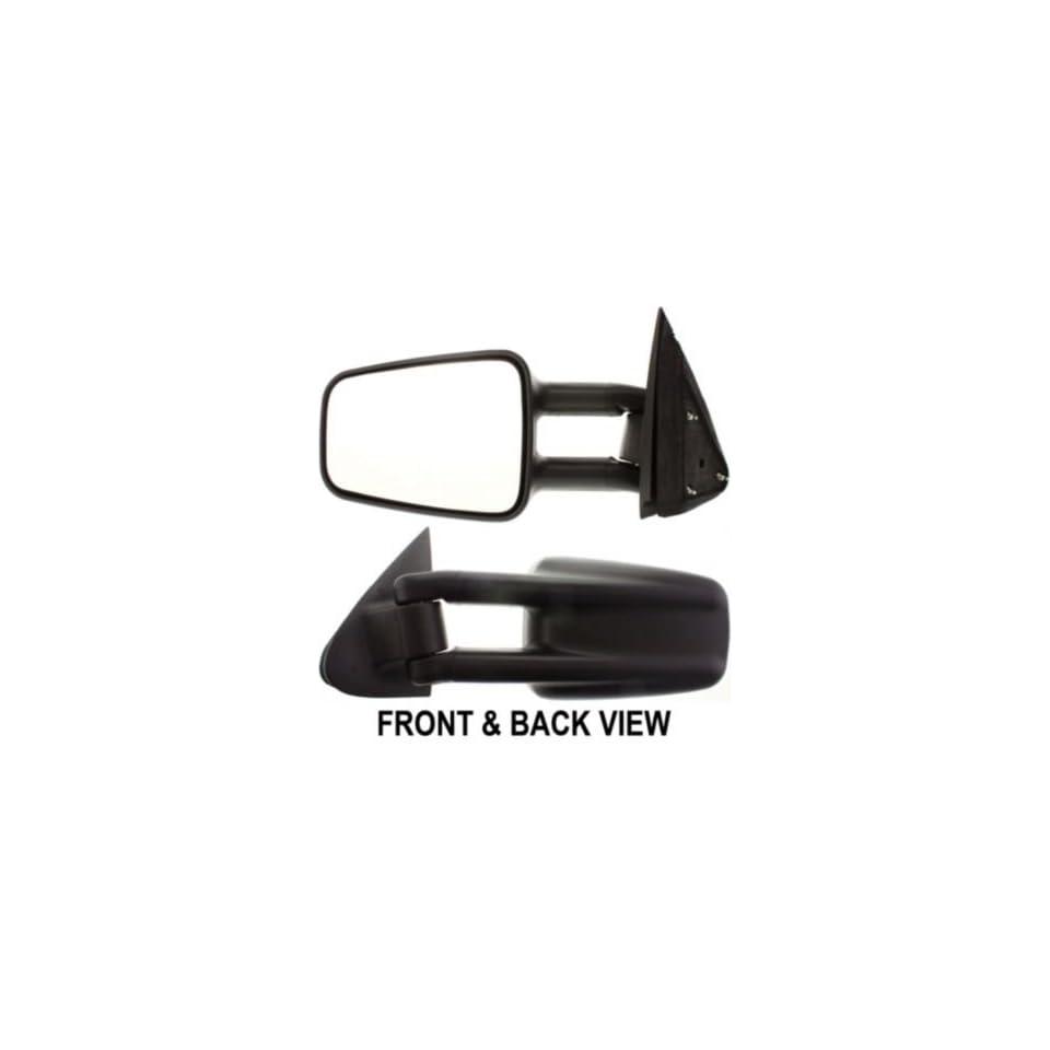 Kool Vue CV18L Chevrolet Silverado Pickup Driver Side Manual Mirror