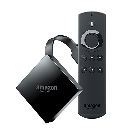 All-New Fire TV with 4K Ultra HD and Alexa Voice Remote (2017 Edition, Pendant) | Streaming Media Player (Electronics)