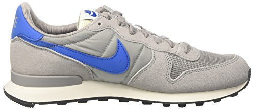 Nike Men's Internationalist Sneakers Multicolor (Matte Silver/Blue Spark/Sail/Black) oaboF