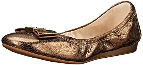 Ballet Cole Haan Tali plana del arco CH Gold/Metallic