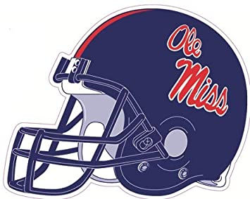 Amazon Com 5 Inch Football Helmet University Of Mississippi Ole