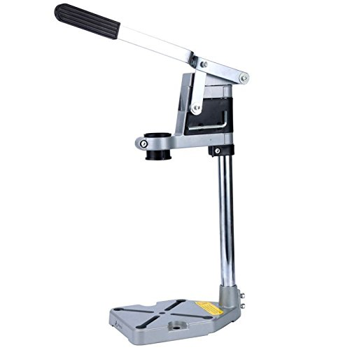 Drilax Aluminum Bench Clamp Drill Press Stand Workbench Repair Tool for Drilling