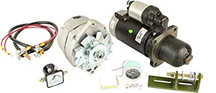 image unavailable  image not available for  color: db electrical akt0017  new alternator starter conversion kit for john deere tractor 3010