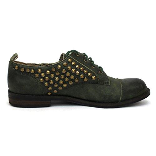 Lucky Worn para Zapatos de Racing Cordones Brand Mujer Green ac6na17B