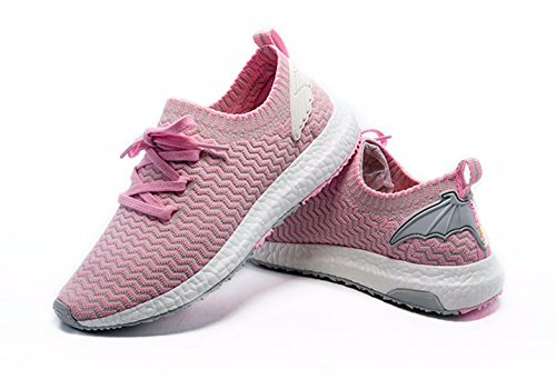 Zapatillas De Punto Onemix Para Mujer, Zapatillas De Correr De Ocio Rosa