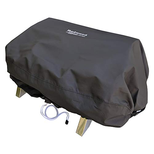 Redwood Grill Supply Grill Cover for Smoke Hollow 205 PT300B - Outdoor Use, Heavy Duty, Waterproof, Drawstring Design